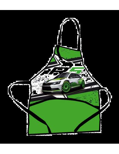 Zástěrka na výtvarnou výchovu Škoda R5