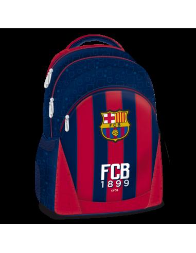 Barcelona stripe tříkomorový studentský batoh