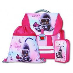 Školní batohový set Kitty 3-dílný