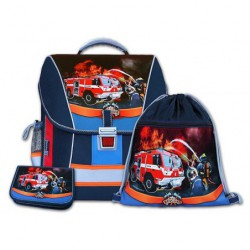 Školní batohový set Rescuer 3-dílný