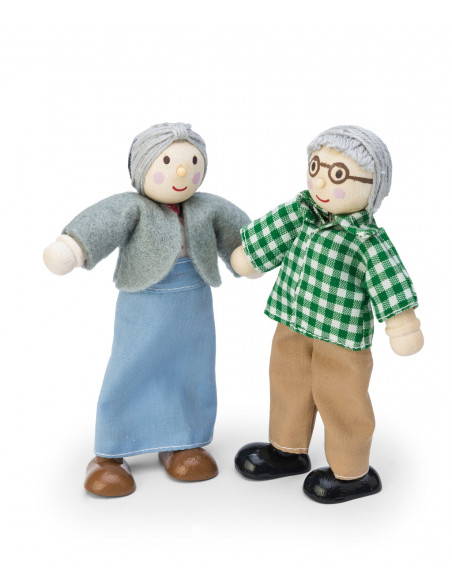 Postavičky babička s dědou