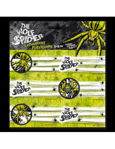 Jmenovky na sešity Wolf Spider