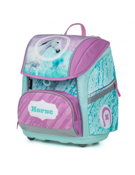 Školní batoh PREMIUM FLEXI kůň romantic