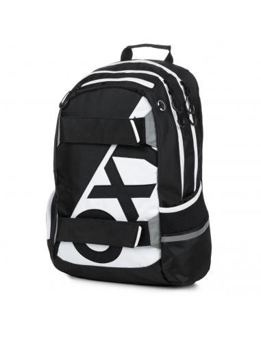 Studentský batoh OXY Sport NEON LINE B&W