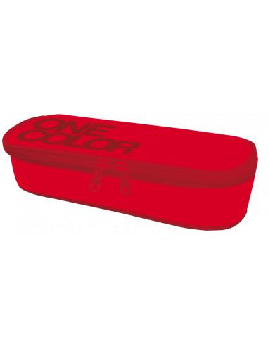 Školní etue One Colour červený