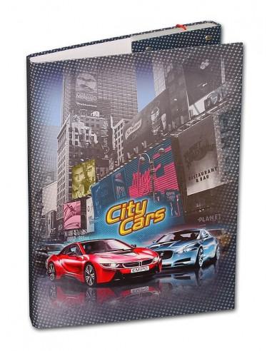 Školní box A4 City Cars