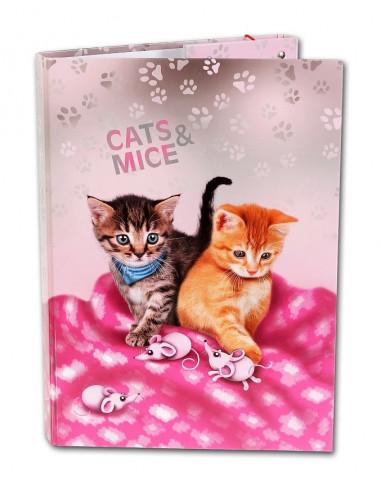 Školní box A4 Cats & Mice