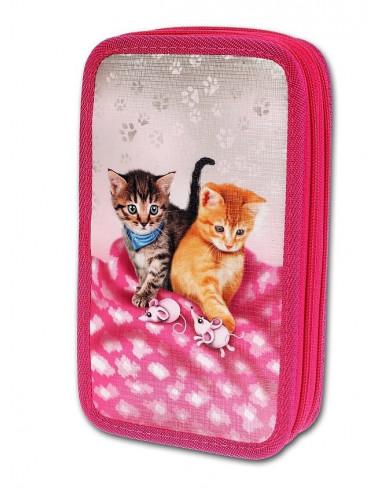 Školní penál 2-patra Cats & Mice