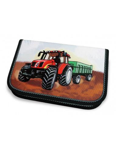 Školní penál 1-klopa Traktor