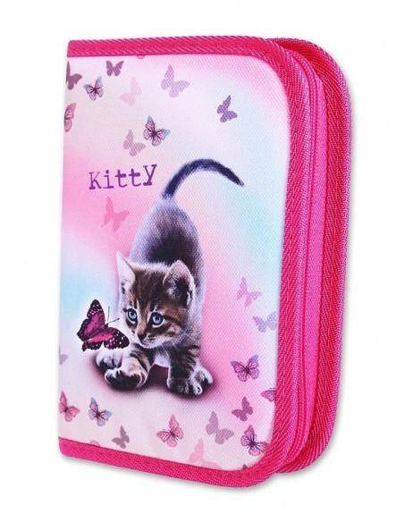 Školní penál 1-klopa Kitty