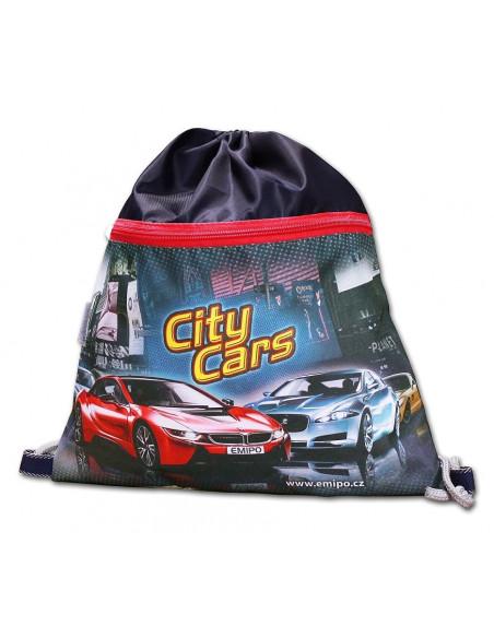 Školní sáček City Cars