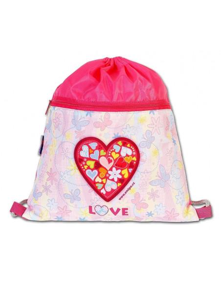 Školní sáček Love