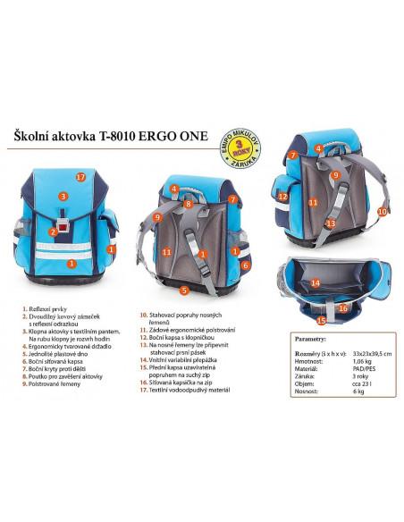 ERGO ONE City Cars školní aktovka