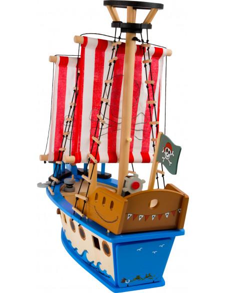 Dřevěná hračka pirátská loď Jack