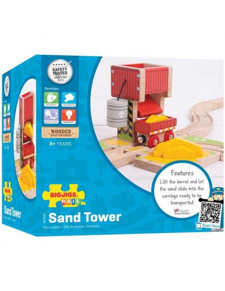 Věž s pískem
