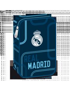 Penál Real Madrid blue lines velký