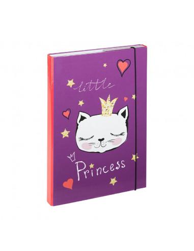 Desky na sešity A4 Kočky Princess