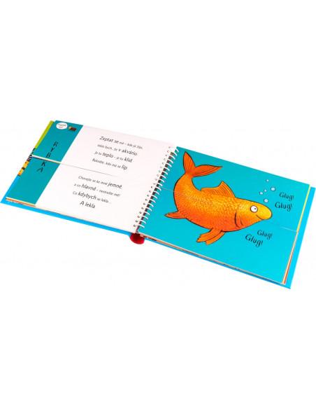 Kniha Rozpustilé hrátky Doma se zvířátky