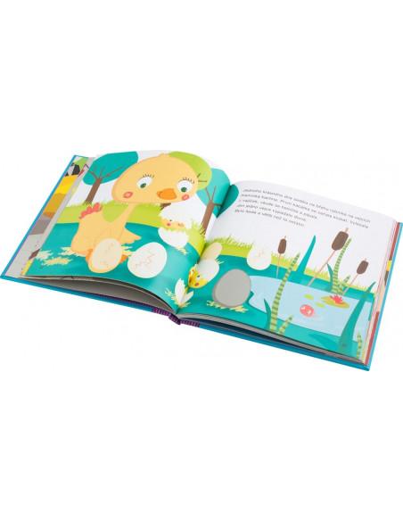 Modrá kniha pohádek, první čtení - bezva hra a poučení