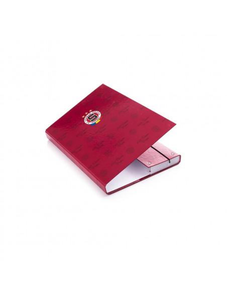 SPARTA - Desky na sešity rudé A5