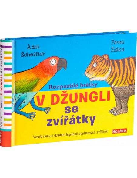 Kniha Rozpustilé hrátky V džungli se zvířátky