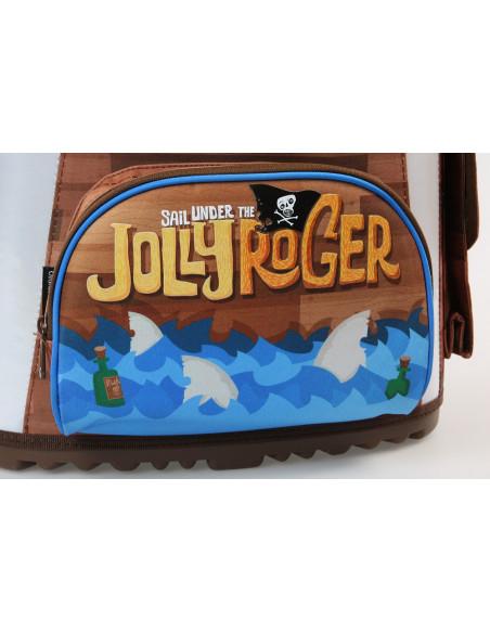 Školní aktovka Jolly Roger magnetic