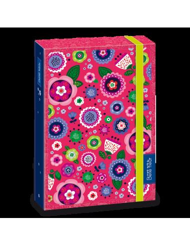 Box na sešity La belle fleur A4