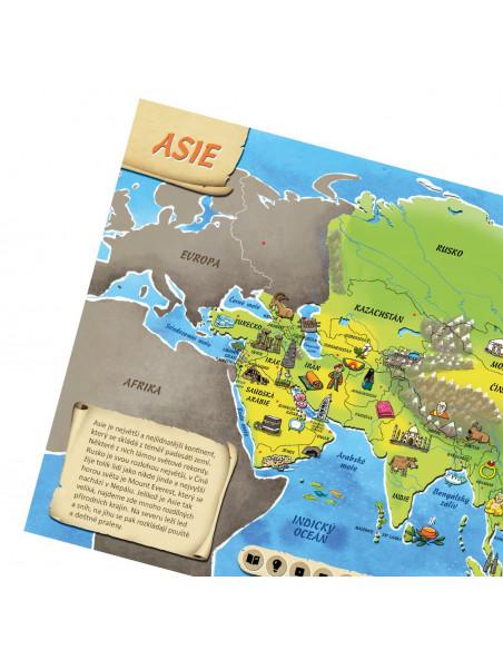 Albi tužka s Atlasem světa