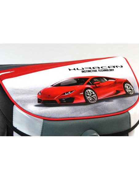 Školní aktovka Lamborghini Red Huracan magnetic