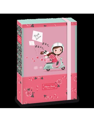 Box na sešity Mon Amie rider A4