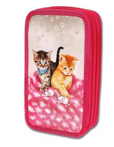Školní penál 3-patra Cats & Mice
