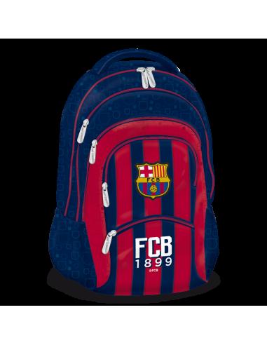 Barcelona stripe pětikomorový studentský batoh