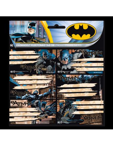 Jmenovky na sešity Batman