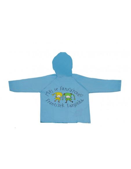 Dětská pláštěnka Kouzelná školka, modrá, 5-6 let