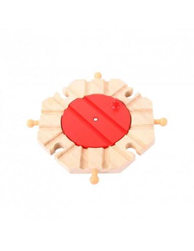 Dřevěná vláčkodráha Točna s 8 výjezdy