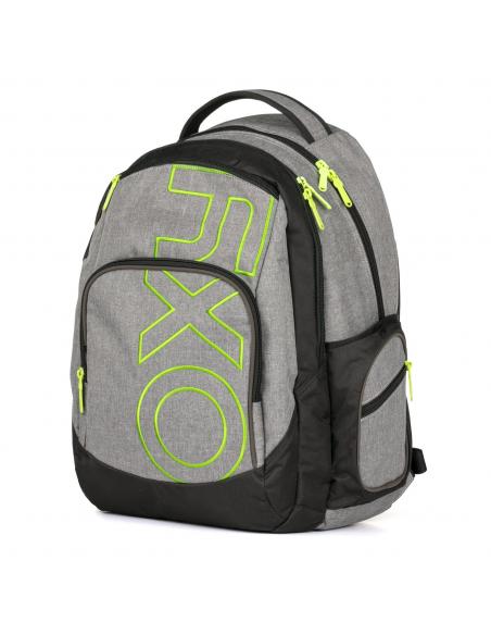 Studentský batoh OXY Style GREY LINE Green