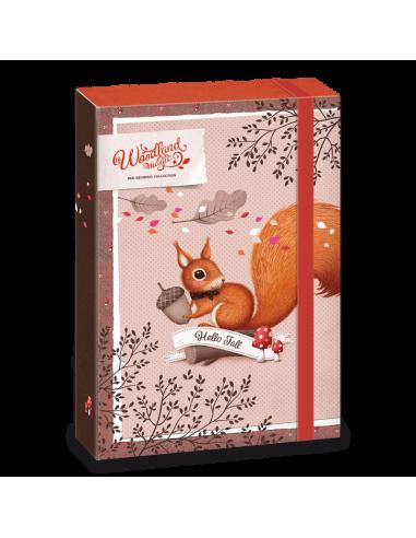 Box na sešity Woodland Magic A4