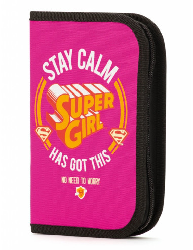 Školní penál Supergirl – STAY CALM