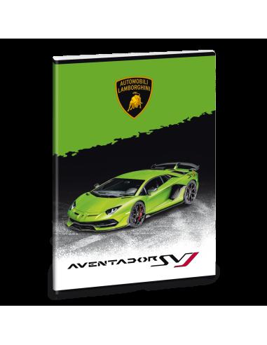 Sešit Lamborghini 20 zelené A4 linkovaný