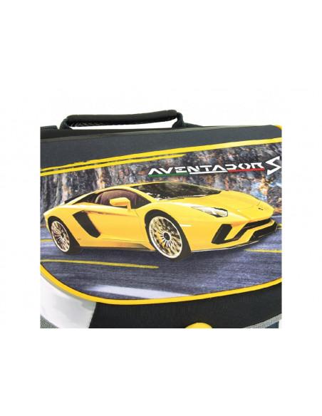 Školní aktovka Lamborghini Yellow Aventador