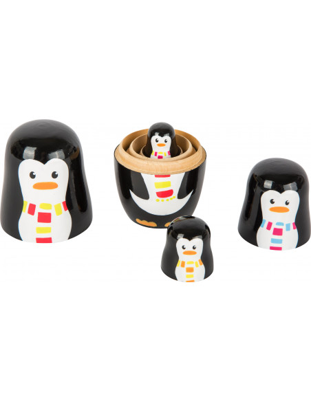 Matrjoška rodina tučňáků