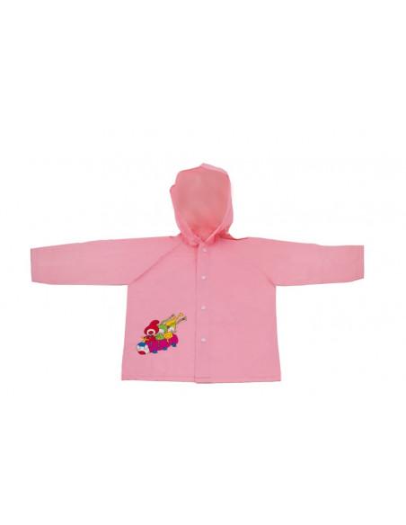 Dětská pláštěnka Kouzelná školka, růžová, 5-6 let