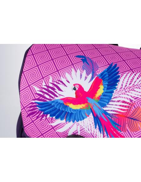 Školní aktovka Papoušek