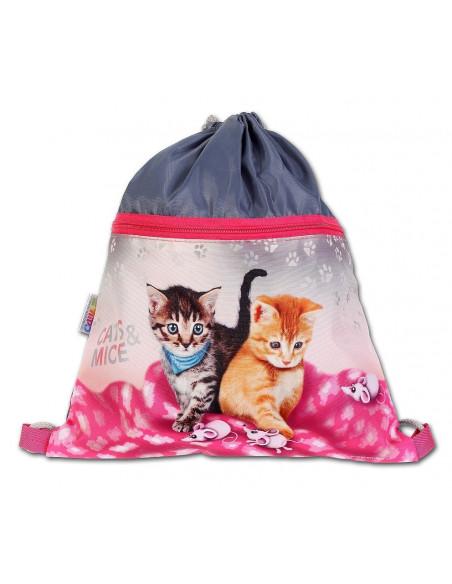 Školní sáček Cats & Mice
