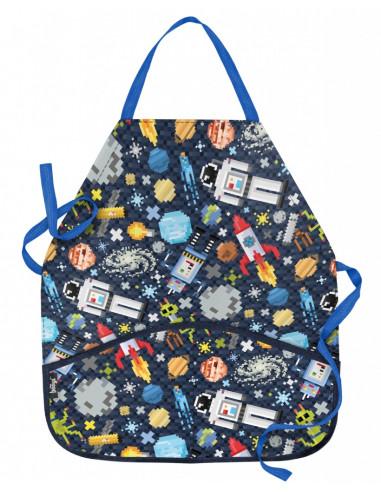 Dětská zástěra Space Game