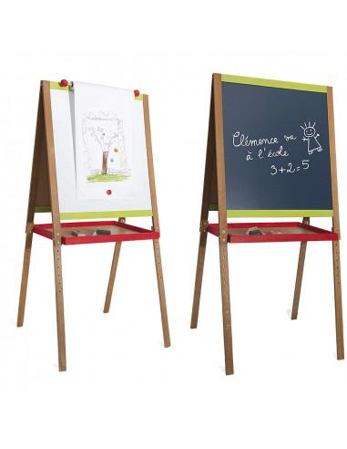Dřevěná multifunční tabule Drawing velká
