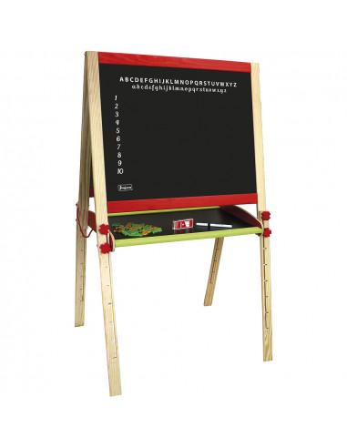 Dřevěná multifunční tabule skládací velká