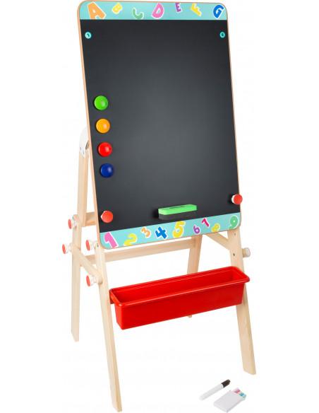 Dřevěná tabule 2v1