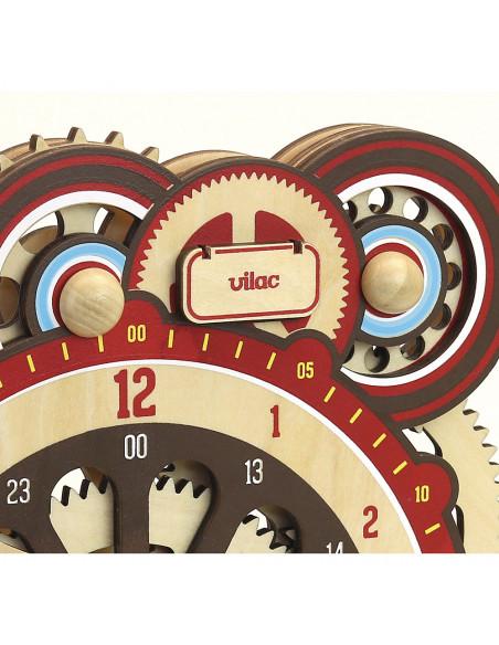 Dřevěné didaktické hodiny