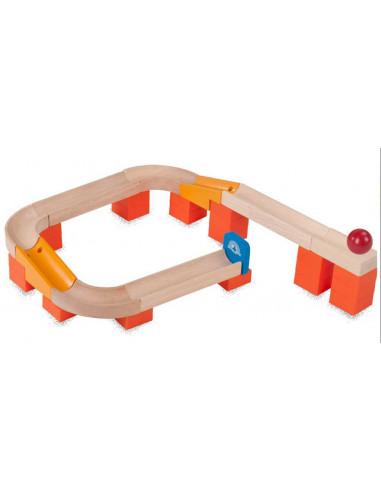 Dřevěná kuličková dráha TRIX - Kulička na dráze